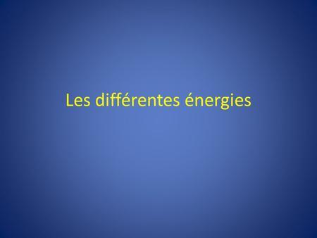 energies renouvelables ppt video online t l charger. Black Bedroom Furniture Sets. Home Design Ideas