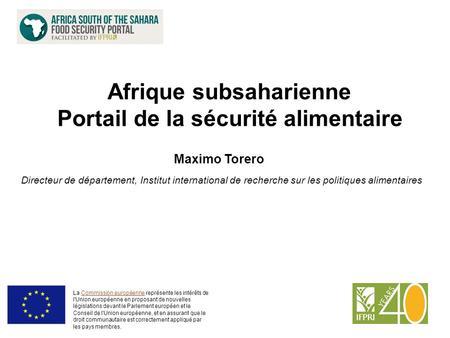 Comment améliorer la sécurité alimentaire en afrique subsaharienne