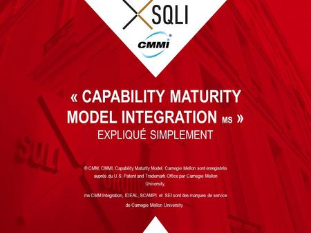 « Capability Maturity Model Integration ms »