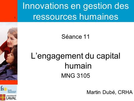 Innovations en gestion des ressources humaines