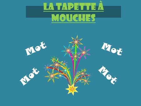 "La Tapette à mouches Mot. This product was posted by ""The Enlightened Elephant"" as ""Free Spanish Vocabulary Games"" on Teachers Pay Teachers. I was so."