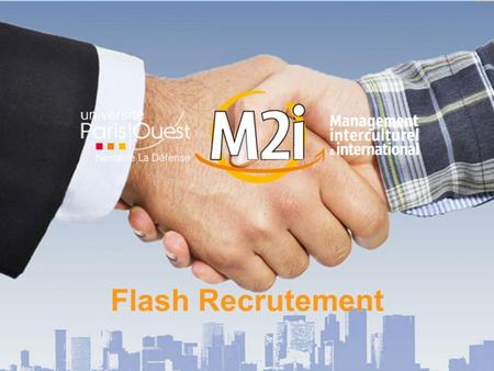 Flash Recrutement.