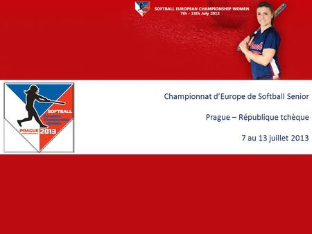 Championnat d'Europe de Softball Senior