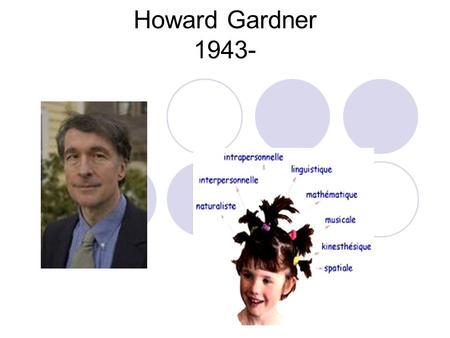 Howard Gardner 1943-.
