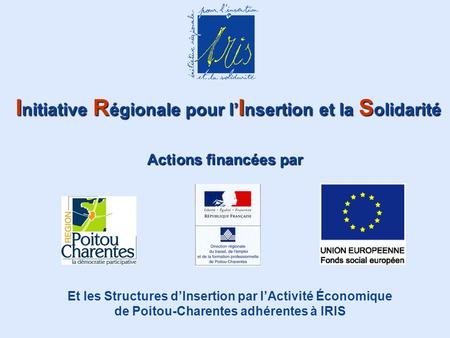 Initiative Régionale pour l'Insertion et la Solidarité