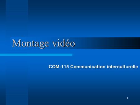 COM-115 Communication interculturelle