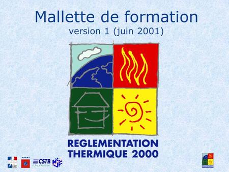 Mallette de formation version 1 (juin 2001)