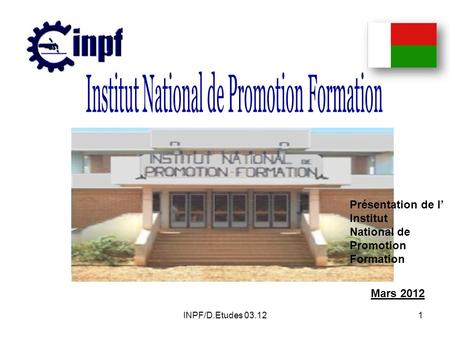 Institut National de Promotion Formation