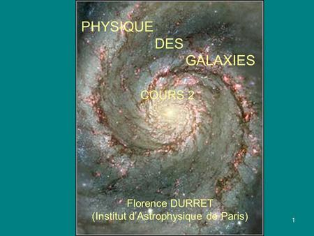 (Institut d'Astrophysique de Paris)