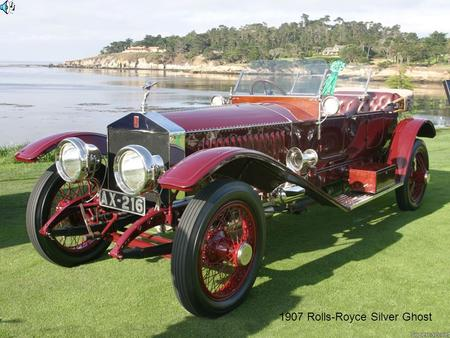 1907 Rolls-Royce Silver Ghost. 1930 Bentley Speed 6 Corsica Coupe.