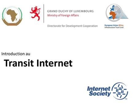 Introduction au Transit Internet