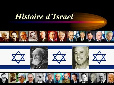 Histoire d'Israel.