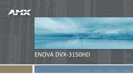 Enova DVX-3150HD.