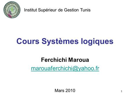 3 1 portes logiques et alg bre de boole ppt video online for Cours circuit logique