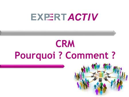 CRM Pourquoi ? Comment ?. CRM : signification Signification de CRM / GRC ? Customer Relationship Management Gestion de la relation client Tour de table,