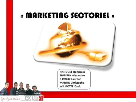 « MARKETING SECTORIEL »