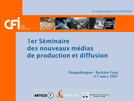 de production et diffusion