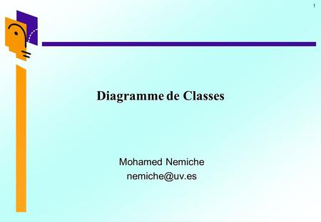1 Diagramme de Classes Mohamed Nemiche