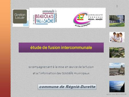 étude de fusion intercommunale
