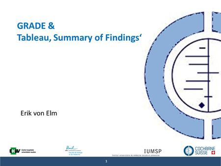 Tableau' Summary of Findings'