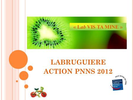 LABRUGUIERE ACTION PNNS 2012 « Lab VIS TA MINE ».