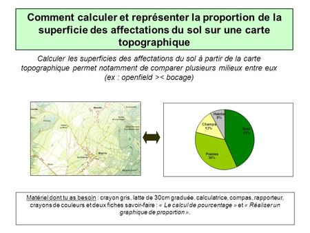 Cours gi le fait r gional probl matique d finir la for Calculer une superficie en m2