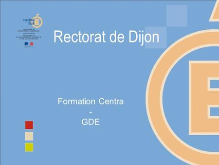 Formation Centra - GDE.