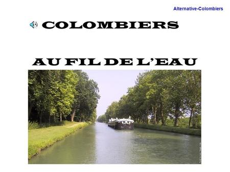 COLOMBIERS AU FIL DE LEAU Alternative-Colombiers.