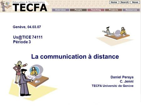 La communication à distance