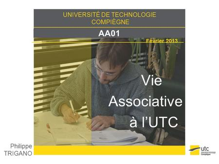 Vie Associative à l'UTC