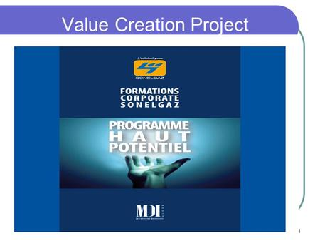 Value Creation Project
