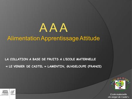 Alimentation Apprentissage Attitude