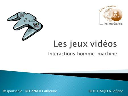 Interactions homme-machine
