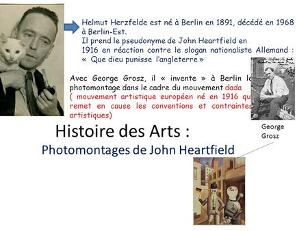 Photomontages de John Heartfield