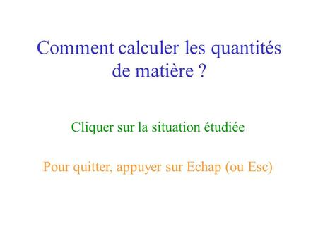 Masse en g quantit de mati re en mol masse molaire en ppt t l charger - Comment calculer la temperature ...