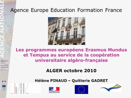 Agence Europe Education Formation France