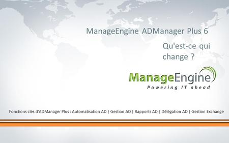 ManageEngine ADManager Plus 6