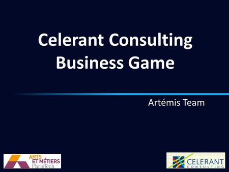 Celerant Consulting Business Game