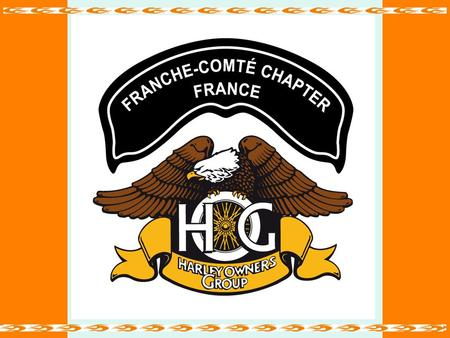 INFOS CHAPTER Mai 2011 Franche-Comté Chapter France.