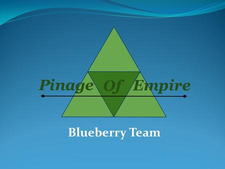 Blueberry Team.