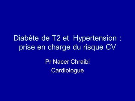 taux du diabète