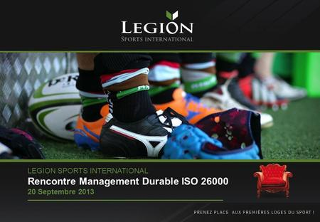 Rencontre Management Durable ISO 26000