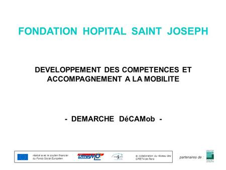 FONDATION HOPITAL SAINT JOSEPH