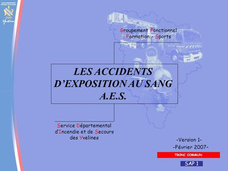 LES ACCIDENTS D'EXPOSITION AU SANG