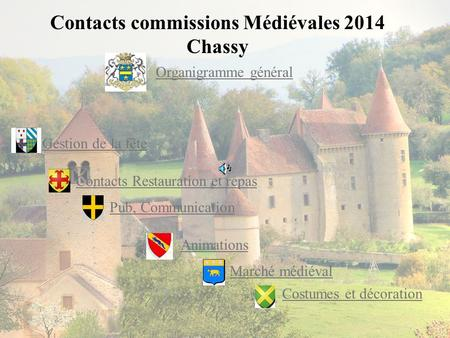 Contacts commissions Médiévales 2014 Chassy