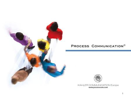1. Process Communication Certification – programme expert.
