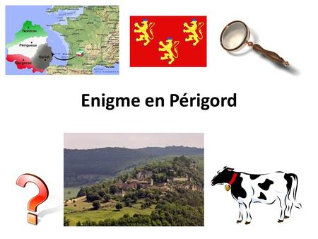 Enigme en Périgord. France Regions Link to flags France is divided into 22 regions (+ overseas) and 95 departments (created In 1790 to replace Ancien.