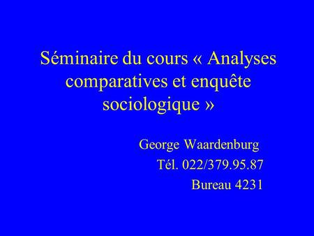 analyses comparatives et enqu te sociologique cours et s minaire prof jean kellerhals avec. Black Bedroom Furniture Sets. Home Design Ideas