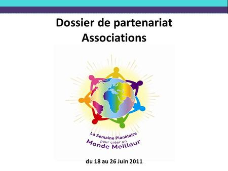 Dossier de partenariat Associations