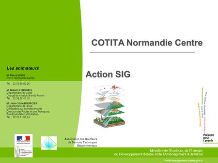 COTITA Normandie Centre Action SIG